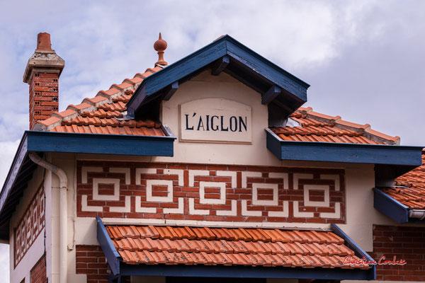 Villa l'Aiglon, Soulac-sur-Mer. Samedi 3 juillet 2021. Photographie © Christian Coulais