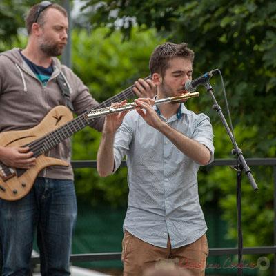 Jonathan Edeline, Alexandre Aguilera, Festival JAZZ360 2016, Cénac