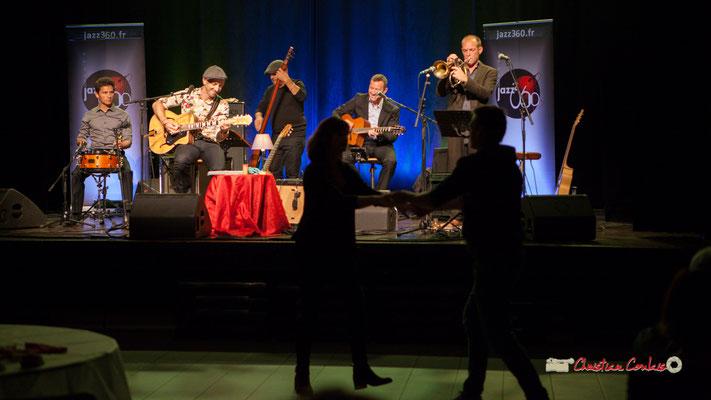 """""""ça swingue, ça danse"""" Concert de The Rix'tet, soirée club JAZZ360, Cénac. 05/10/2019"""