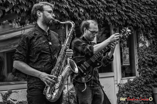 Robin & The Woods Duo : Jérôme Mascotto, Robin Jolivet. Festival JAZZ360 2018, Cénac. 08/06/2018