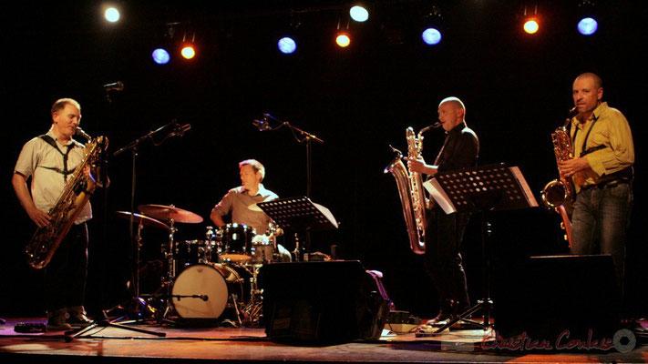 Francis Mounier, Didier Ottaviani, Guillaume Schmidt, Alain Coyral; Fédération Française de Baryton (FFB), Festival JAZZ360, Cénac. 05/06/2011