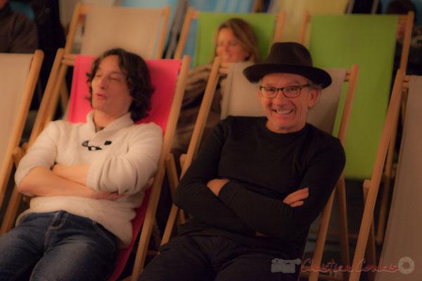 Jean-Luc Payssan, Philippe Cauvin. Le Rocher de Palmer, 12/12/2015. Reproduction interdite - Tous droits réservés © Christian Coulais