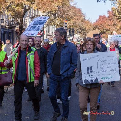 """#Rendl'isf"" Manifestation nationale des gilets jaunes. Cours d'Albret, Bordeaux. Samedi 17 novembre 2018"