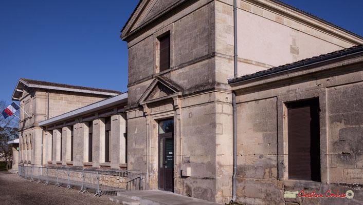 Mairie-Ecole par Christian Coulais. Cénac d'aujourd'hui. 10/02/2018