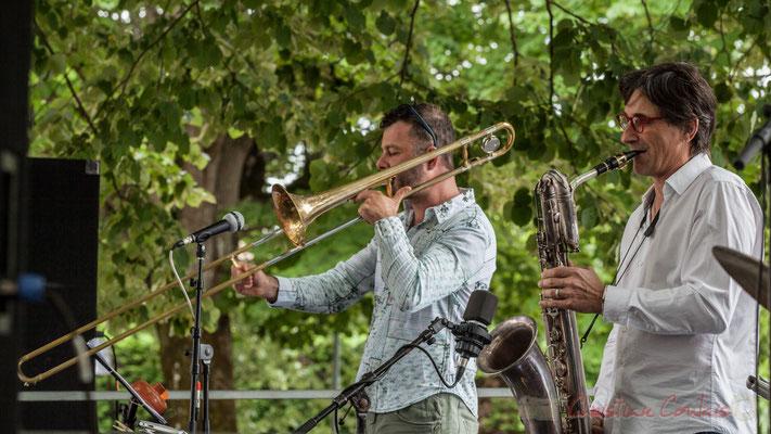 Daniel Zimmermann, Eric Séva Quartet, Festival JAZZ360 2016, Camblanes-et-Meynac, 11/06/2016
