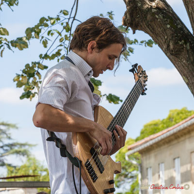Jean-Marie Morin, Tom Ibarra Group. Festival JAZZ360, 10 juin 2017, Camblanes-et-Meynac
