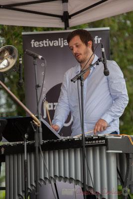 Alexis Valet, Alexis Valet Sextet, Festival JAZZ360 2016, Quinsac, 12/06/2016