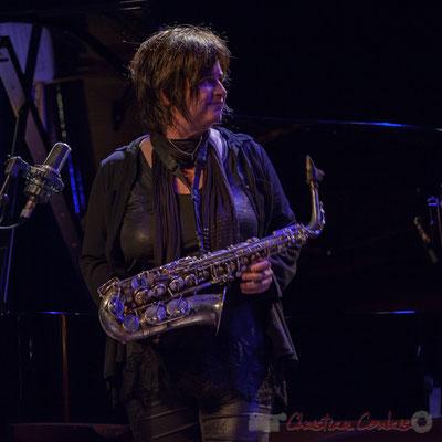 """Géraldine Laurent, Géraldine Laurent """"At work"""" Quartet. Festival JAZZ360, Cénac"""
