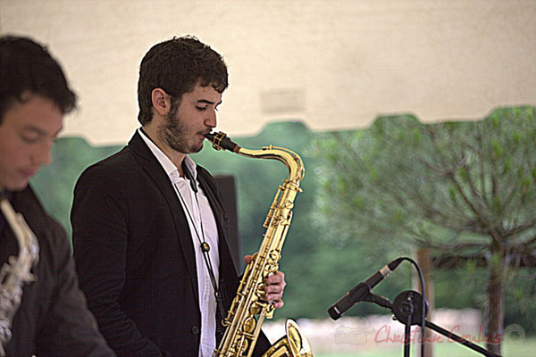 Florian Marques; Naxee Quintet, Festival JAZZ360 2012, Quinsac. Dimanche 10 juin 2012