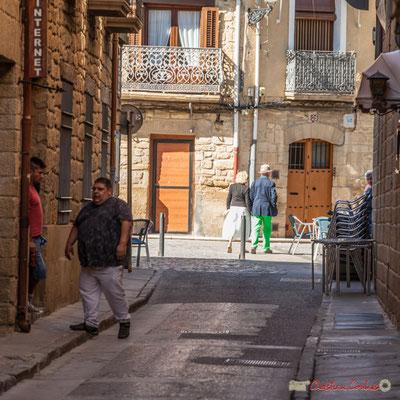 Calle Rúa de Merino, Olite,Navarra