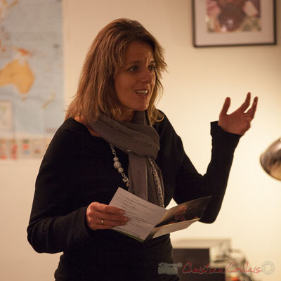 Sandra Pecastaingts. Le Rocher de Palmer