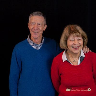 Michèle et Gérard Pointet photographiés par Christian Coulais. Cénac, samedi 2 février 2019
