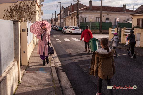 Nelly; Marion; Zia; Regards en biais, Cie La Hurlante, Hors Jeu / En Jeu, Mérignac. Samedi 24 novembre 2018