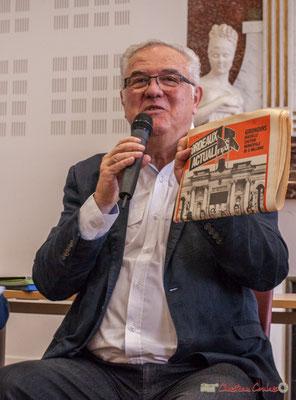 """Où il est question des Girondins de Bordeaux. Sortie et dédicace du livre """"Le jour où..."""" de Jean-Marie Darmian, Créon. 14/10/2017"""