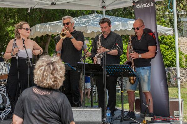 Flore Lemaitre, Claude Lermène, Denis Bonithon, Yohann Pichon; Soul Kitchen, Festival JAZZ360, Quinsac. 11/06/2017