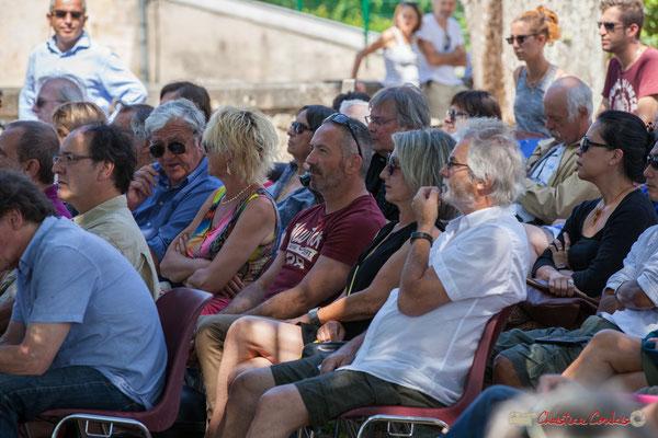 Un public toujours plus nombreux. Tom Ibarra Group. Festival JAZZ360, 10 juin 2017, Camblanes-et-Meynac