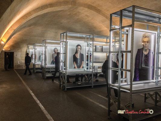 """1 """"Détenues"""" exposition photographique de Bettina Rheims. Château de Cadillac, Centre des Monuments Nationaux. Photographe : Christian Coulais. 04/11/2018"""