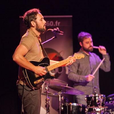 Høst invite Nicolas Gardel ; Dorian Dutech, Théo Teboul. Festival JAZZ360, Cénac. Vendredi 4 juin 2021. Photographie © Christian Coulais