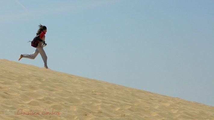 Un souvenir remarquable pour qui en accepte l'ascension obligatoire...Dune du Pilat, Espace Naturel Sensible, La Teste-de-Buch