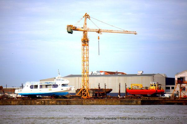 Chantiers de réparation navale. Bordeaux, samedi 16 mars 2013