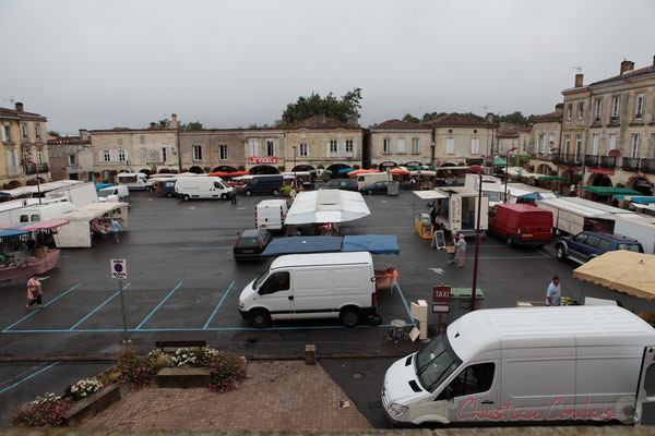 8h30, Place de la Prévôté, Marché de Créon, Gironde