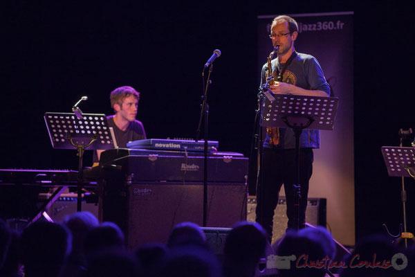 Le Jardin Quartet : Simon Chivallon, piano / Julien Dubois, saxophone. Festival JAZZ360 2016