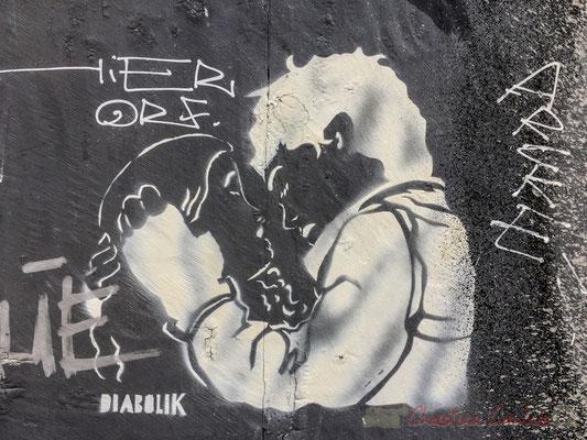 """28 """"Diabolik"""" Street Art, Arles"""
