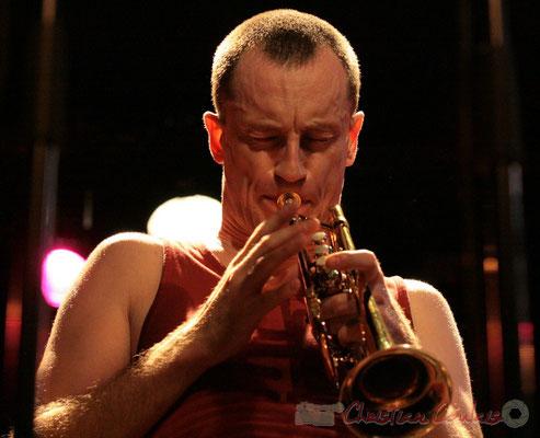 """Médéric Collignon; Médéric Collignon """"Jus de Bocse"""". Festival JAZZ360 2011, Cénac. 04/06/2011"""
