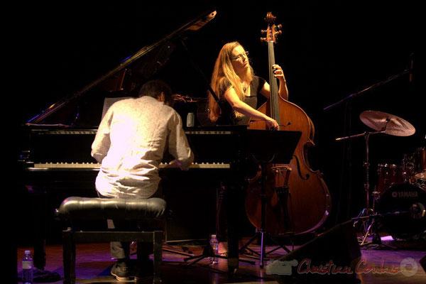 "Paul Lay, Nolwenn Leizour; Frédéric Borey ""Lines"" Quartet, Festival JAZZ360 2012, Cénac. 08/06/2012"