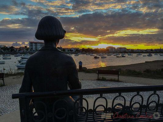 """En avril 1926, la grande poétesse russe Marina Tsvetaeva (1892-1941) loue une maisonnette de pêcheurs, """"Ker-Édouard"""", avenue de la Plage, à Saint-Gilles-Croix-de-Vie"""