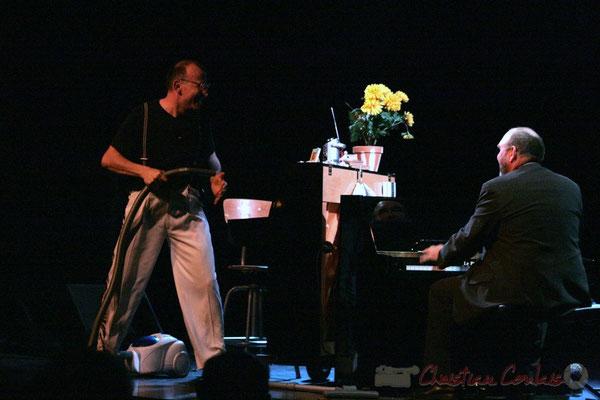Fred Lasnier, Alain Barrabès, Voisins de piano, Cénac, Gironde