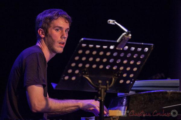 Le Jardin Quartet : Simon Chivallon, piano. Festival JAZZ360 2016
