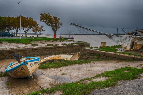 Le port de Bourg-sur-Gironde, samedi 26 septembre 2020. Photographie HDR © Jean-Pierre Couthouis