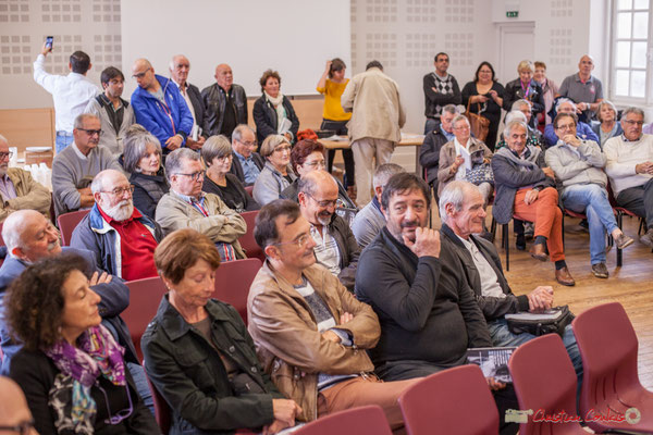 """Sortie et dédicace du livre """"Le jour où..."""" de Jean-Marie Darmian. Salle citoyenne, Créon. 14/10/2017"""