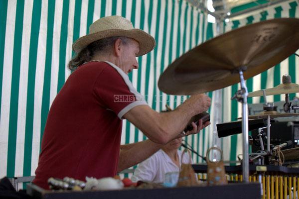 Festival JAZZ360 2014, Philippe Cauvin; Jazzméléon Trafic. Cénac, 07/06/2014