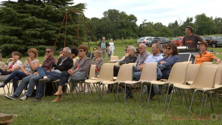 Tony, régisseur son extérieur; Alex Golino & David Blenkhorn Quartet, Festival JAZZ360 2012, château Roquebrune, Cénac, samedi 9 juin 2012