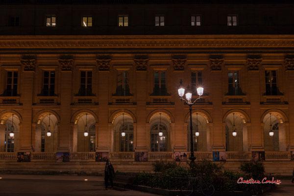 """""""La Grande déconfinance II"""" Grand-théâtre de Bordeaux. Mercredi 16 décembre 2020. Photographie © Christian Coulais"""