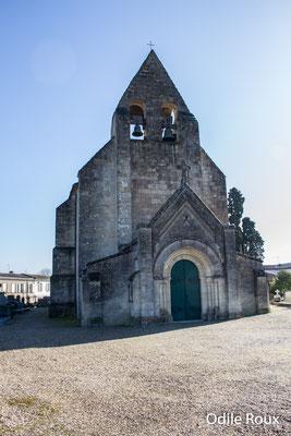 L'église Saint-André, XIIème siècle, par Odile Roux. Cénac d'aujourd'hui. 10/02/2018