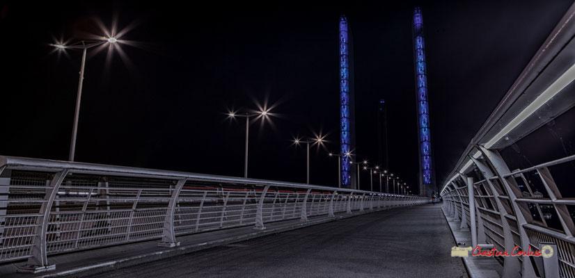 #2 Piste cyclable & piétonne. Pont Jacques Chaban-Delmas, Bordeaux. Mercredi 27 février 2019
