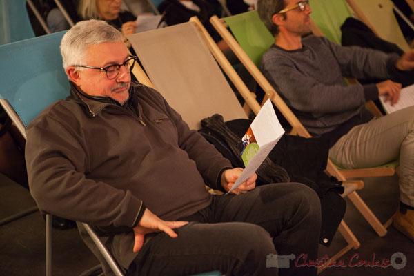 Dom Imonk, chroniqueur à Action Jazz. Le Rocher de Palmer
