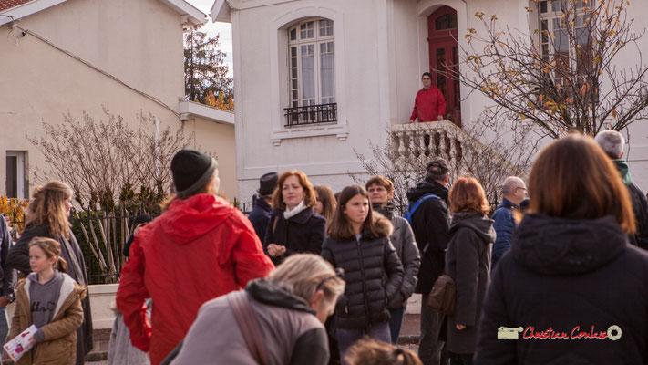 """Caroline Cano """"Noël Folly"""" Regards en biais, Cie La Hurlante, Hors Jeu / En Jeu, Mérignac. Samedi 24 novembre 2018"""