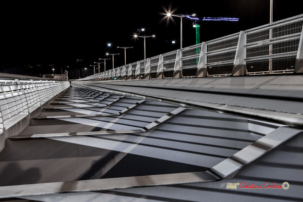 #Bras de fer. Pont Jacques Chaban-Delmas, Bordeaux. Mercredi 27 février 2019