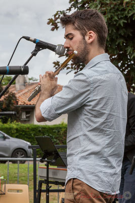 Alexandre Aguilera, Festival JAZZ360 2016, Cénac