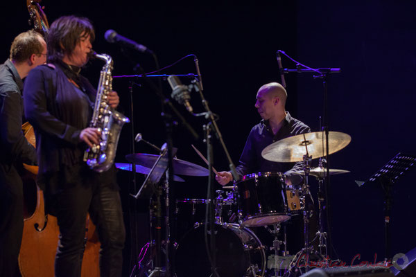 Donald Kontomanou, Géraldine Laurent Quartet. Festival JAZZ360, Cénac