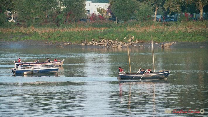 Scouts marins de Bordeaux en exercice sur la Garonne, 7 juillet 2007