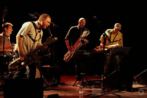 Didier Ottaviani, Francis Mounier, Guillaume Schmidt; Fédération Française de Baryton (FFB), Festival JAZZ360, Cénac. 05/06/2011