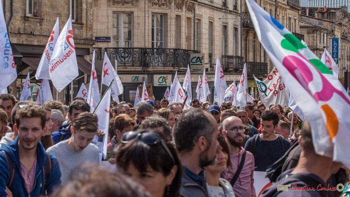 La France Insoumise. Manifestation contre la réforme du code du travail. Place Gambetta, Bordeaux, 12/09/2017