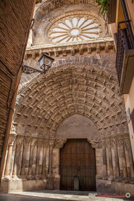 Porte du Jugement / Puerta del Juicio, Catedral Santa Maria la Blanca, Tudela, Navarra