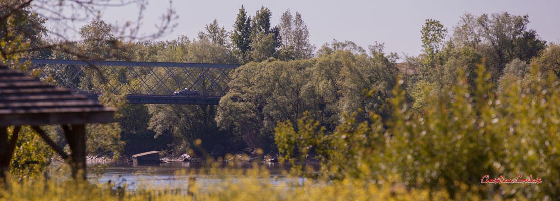 """""""Pont métallique Fives-Lille à Langoiran 1881"""" Le Tourne, samedi 24 avril 2021. Photographie © Christian Coulais"""