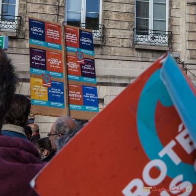 """""""Pour...Pour...Pour...Pour..."""" Manifestation du 1er mai 2017, avec la France Insoumise, cours d'Albret, Bordeaux"""
